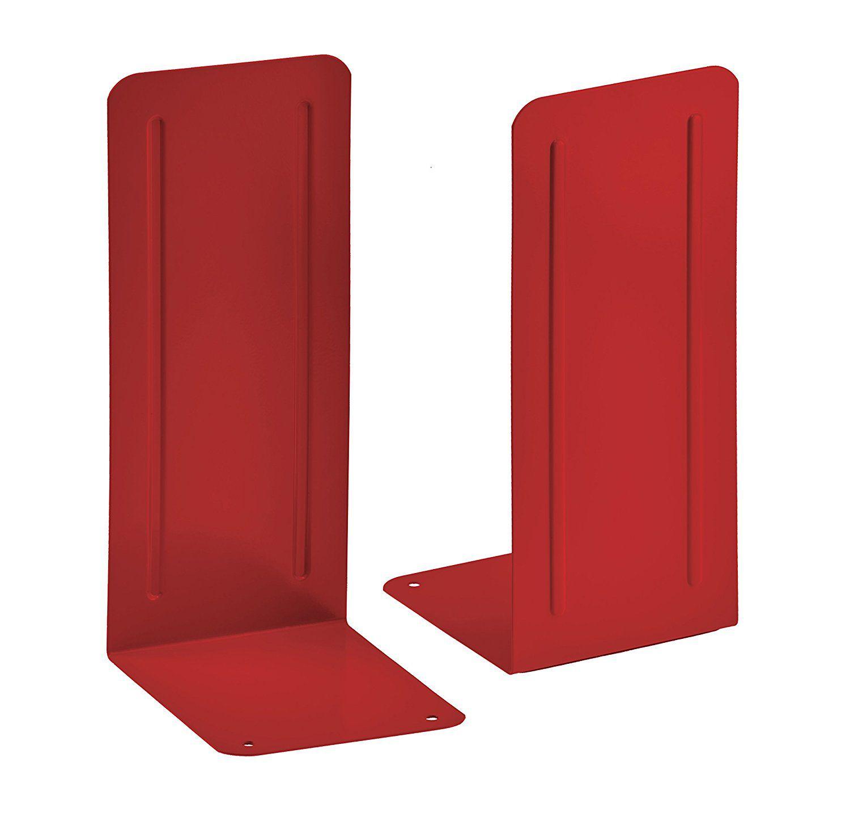 Kit com 4 pares de Suporte Livro Acrimet Jumbo 294.8 vermelho
