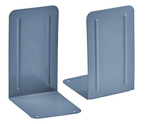 Kit com 6 pares de Suporte Livro Acrimet premium 292.2 cor azul claro