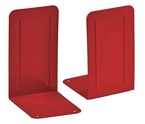 Kit com 6 pares Suporte Livro Acrimet Premium 292.8 cor vermelho