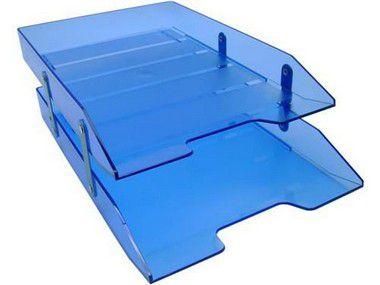 Caixa para correspondencia Acrimet 243.2 dupla articulada cor azul clear