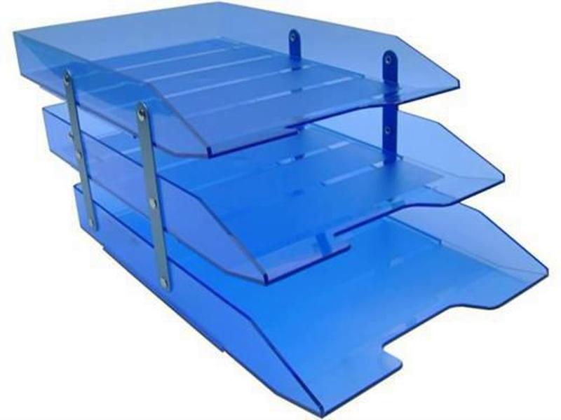 Caixa para correspondencia Acrimet 245.2 tripla articulada azul clear