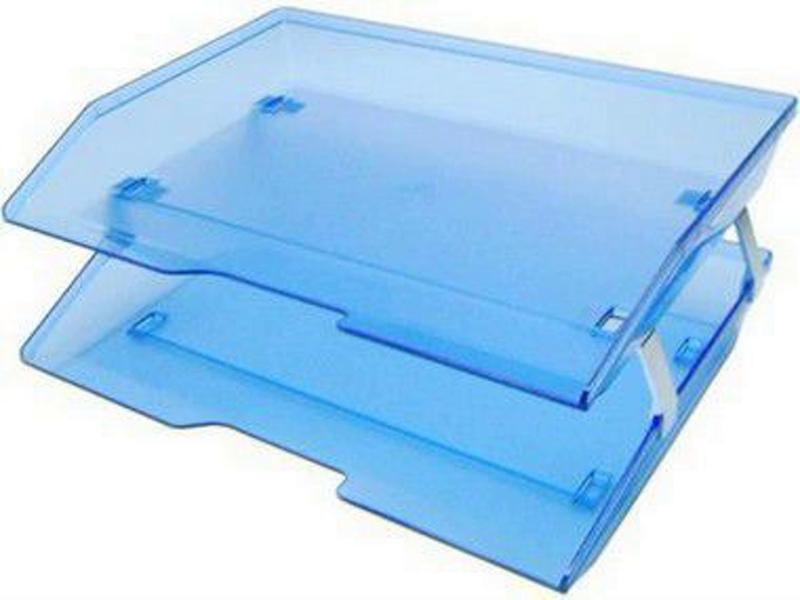 Caixa para correspondencia Acrimet 253.2 dupla facility lateral azul clear