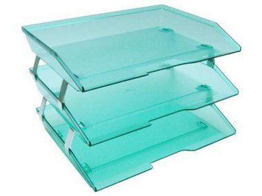 Caixa para correspondencia Acrimet 255.5 tripla faciliti lateral verde clear