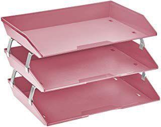 Caixa para correspondencia Acrimet 255.RO tripla faciliti lateral rosa solido