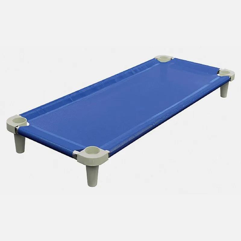 Cama criança infantil Acrimet empilhável 713.1 cor azul