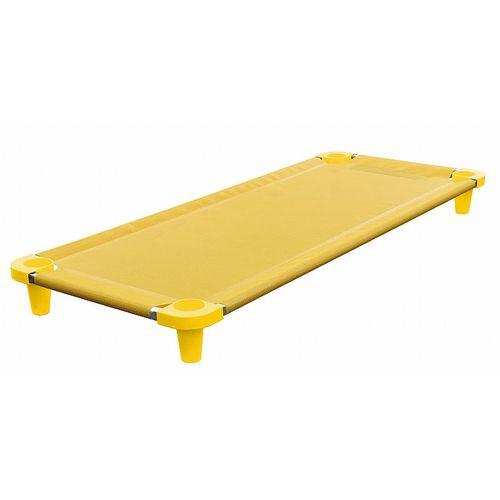 Caminha Acrimet soneca empilhável 713 manta e pés na cor amarela cx com 5 unidades