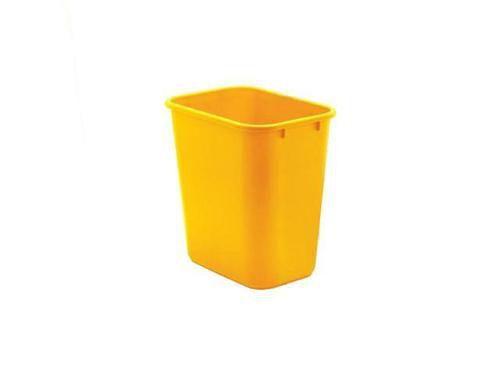 Cesto Acrimet para escritorio 571 6 retangular 12 litros amarelo