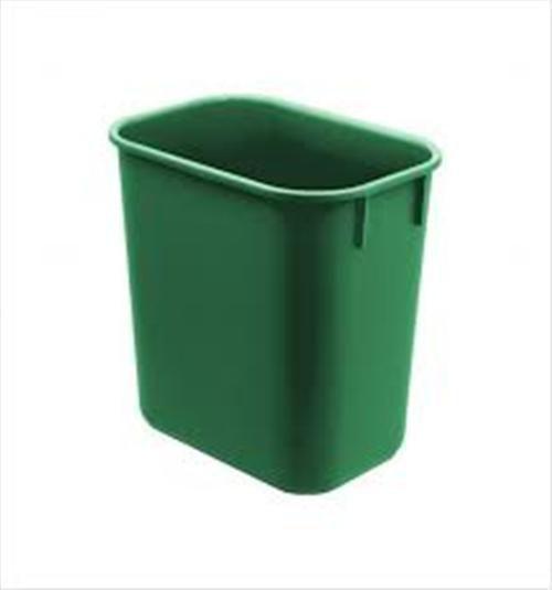 Cesto Acrimet para escritorio 571.7 retangular 12 litros verde