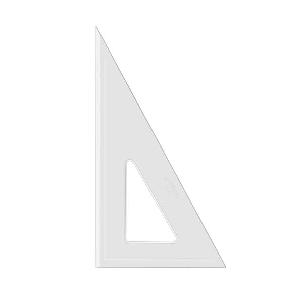 Esquadro Acrimet 540.1 de 30 x 60 graus com 21 cm de comprimento SEM ESCALA