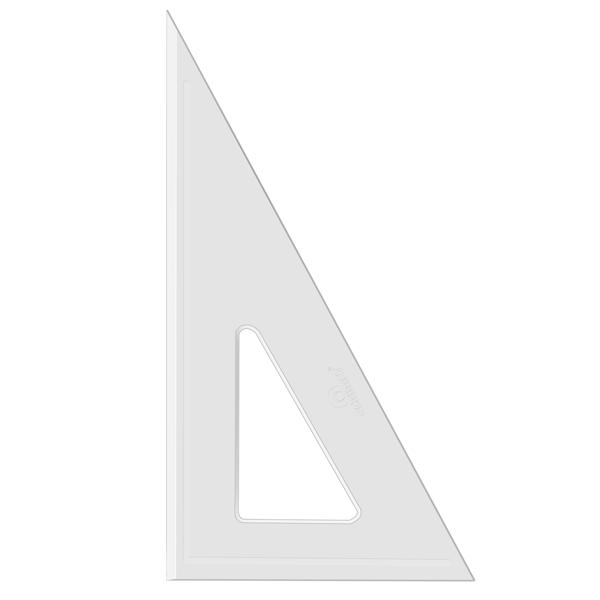 Esquadro Acrimet 540.3 de 30 x 60 graus com 26 cm de comprimento SEM ESCALA