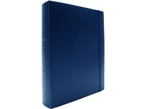 Fichario Acrimet 802 2  pasta vip oficio 2 argolas cor azul marinho
