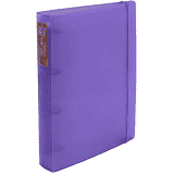 Fichario Acrimet 802.11  pasta vip oficio 2 argolas cor pink (lilás)