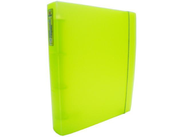 Fichario Acrimet 803.10  pasta vip oficio 3 argolas cor amarelo neon