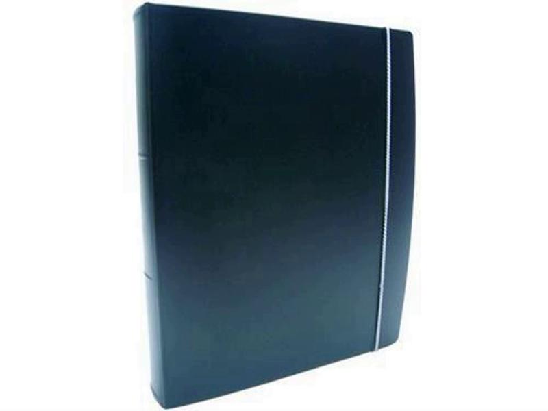 Fichario Acrimet 803.5  pasta vip oficio 3 argolas cor preta