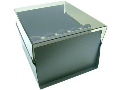 Fichario Acrimet 925 3 de mesa para ficha 7x10 com indice cor cristal