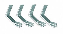 Suporte Acrimet 260.1 metalico para caixa para correspondencia faciliti conjunto com 4 unidades