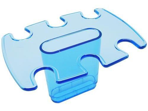 Modulo adicional porta carimbo 6 lug. azul clear 807.2