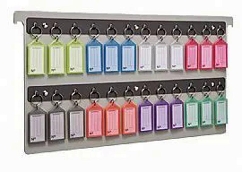 Organizador de chaves pasta suspensa c/24 chaveiros 145.0