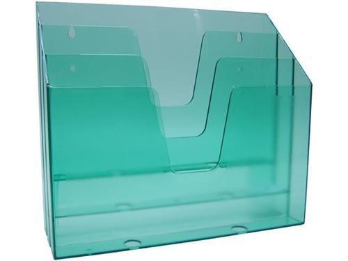 Organizador de escritorio horizontal verde clear 860.3