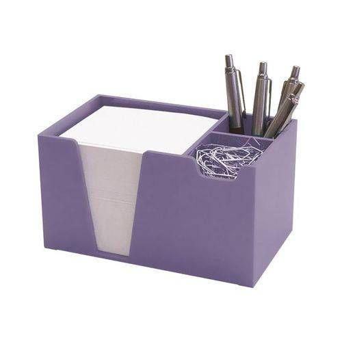 Organizador de mesa lilas solido c/papel branco 954.LO   Acrimet
