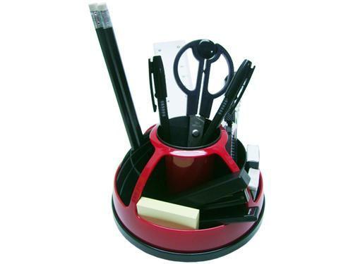 Organizador de mesa maxi office  vermelho 871 4