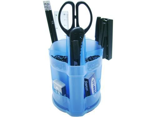 Organizador de mesa mini office azul 870