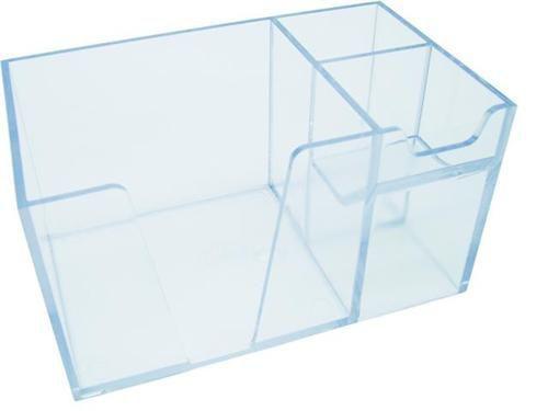Organizador de mesa  sem papel cor cristal 978.3