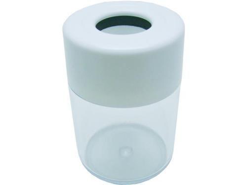 Porta clips Acrimet 936 3 com imã cor cristal e branco