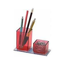 Porta lapis/clips vermelho 939.7 Acrimet