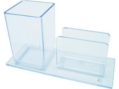 Porta Lapis Lembrete s/papel cor cristal 938 3
