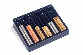 Porta moedas  novas e antigas cor preto 990.0