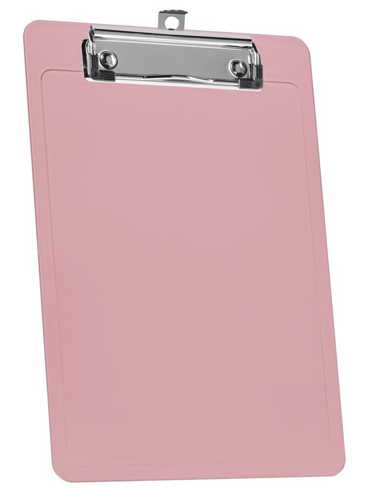 Prancheta 1/2 Oficio rose Clear Wire Clip 137 6