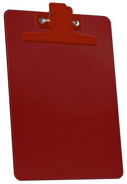 Prancheta 1/2 PP Vermelho clear Prendedor Metalico 150 6  Acrimet