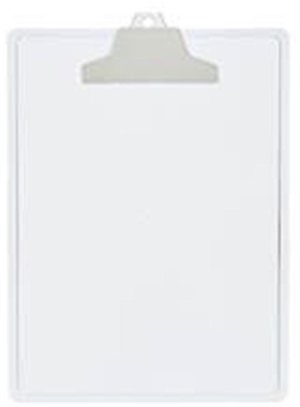 Prancheta A4 c/Prend. Plastico Cristal 131.3