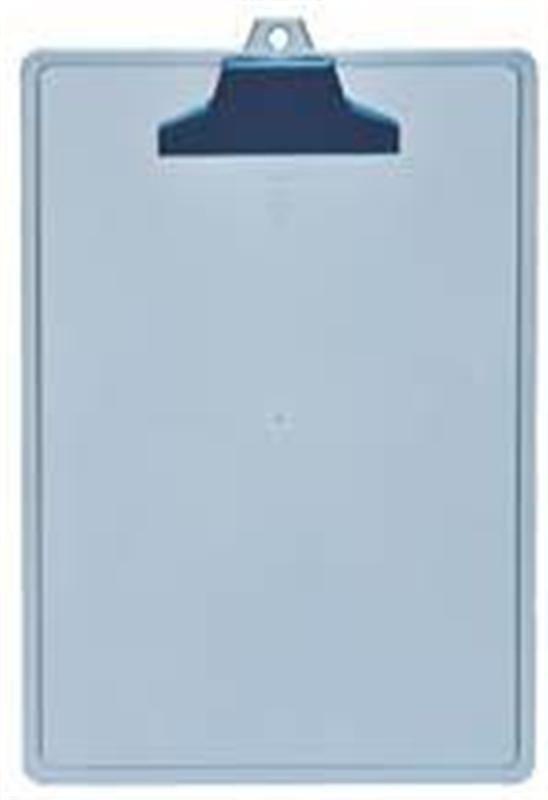 Prancheta Acrimet 131.2 com prendedor plastico  A4 cor azul