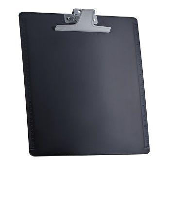 Prancheta Acrimet 133.5 oficio ccom reguas laterais e prendedor zincado cor preta