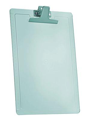 Prancheta Acrimet 135.4 oficio com reguas laterais cm e Polegadas cor verde clear