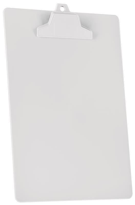 Kit com 12 Prancheta Acrimet pop 129.2  pp com prendedor plastico A4 cor branca