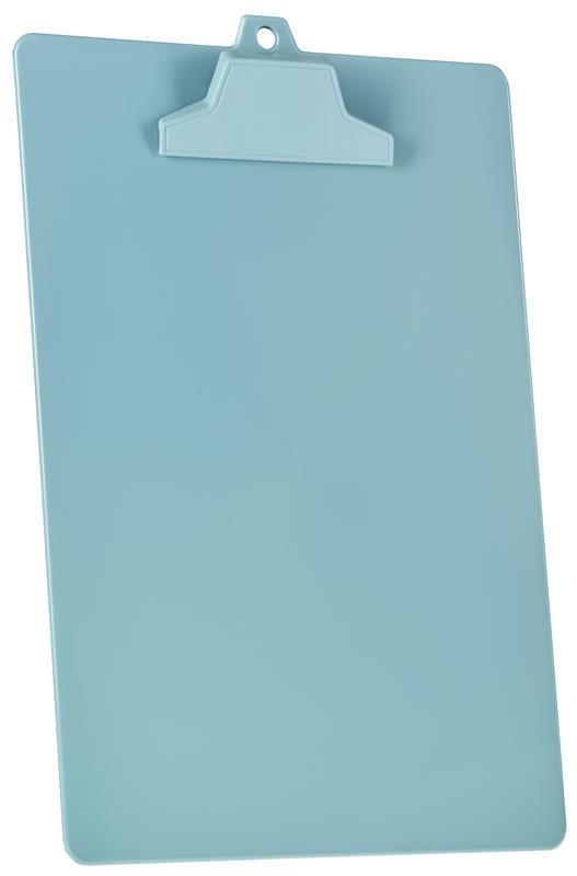 Kit com 12 Prancheta Acrimet pop 129.3  pp com prendedor plastico A4 cor verde