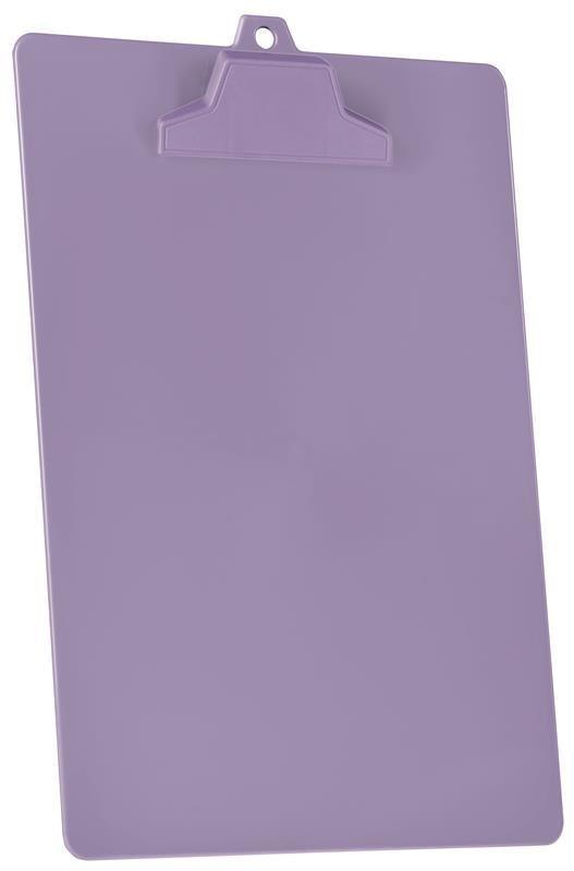 Prancheta Acrimet pop 129.5  pp com prendedor plastico A4 cor lilas
