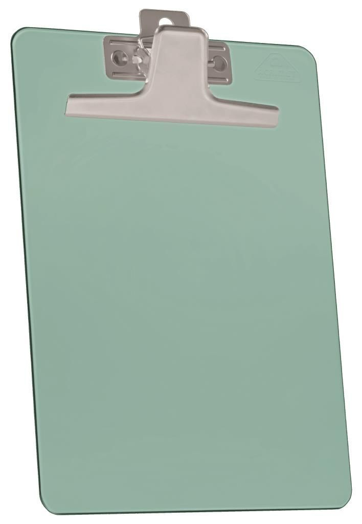 Prancheta Acrimet 930 4  premium prendedor metalico oficio na cor verde