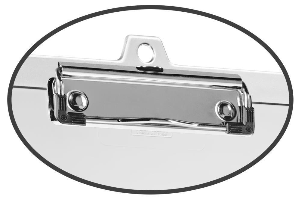 Kit com 25 Prendedor metálico wire clip 30377
