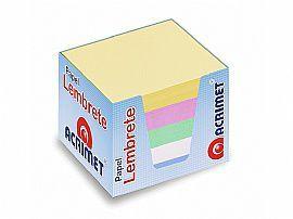 Refil Acrimet 952.0 porta lembrete  colorido  pacote com 750 folhas