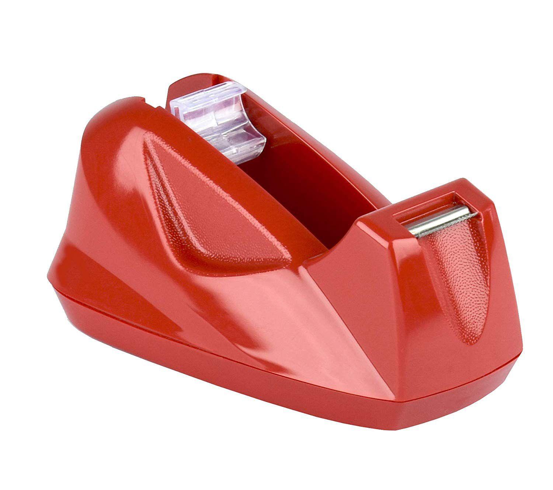 Suporte Acrimet 270 4  para fita adesiva pequena cor vermelha