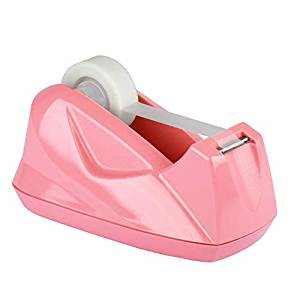 Suporte Acrimet 270.9  para fita adesiva pequena cor rosa