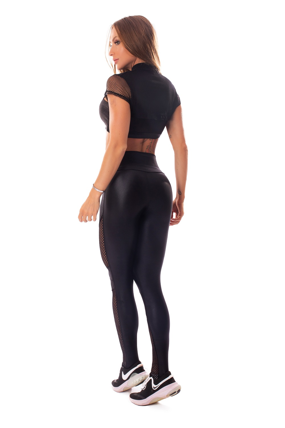 CROPPED E TOP AUDACIOUS WOMAN LETSGYM