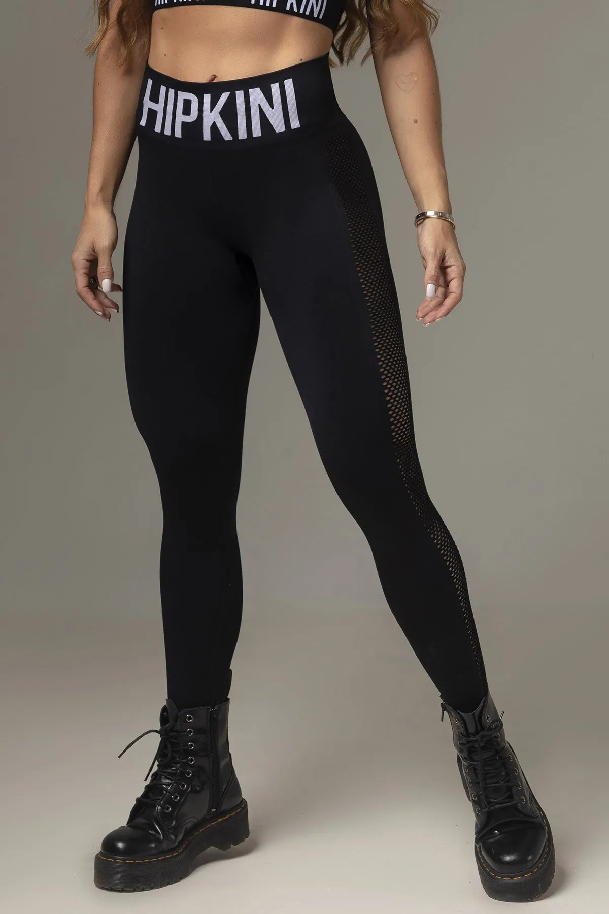 LEGGING ACTION FITNESS SEAMLESS PRETA HIPKINI