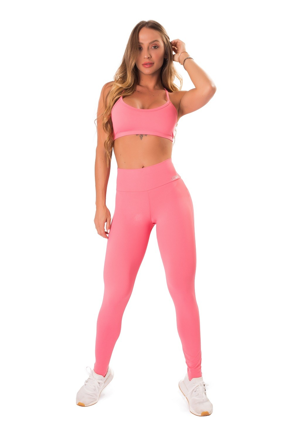 LEGGING PURE UP SOFT LETSGYM CORAL