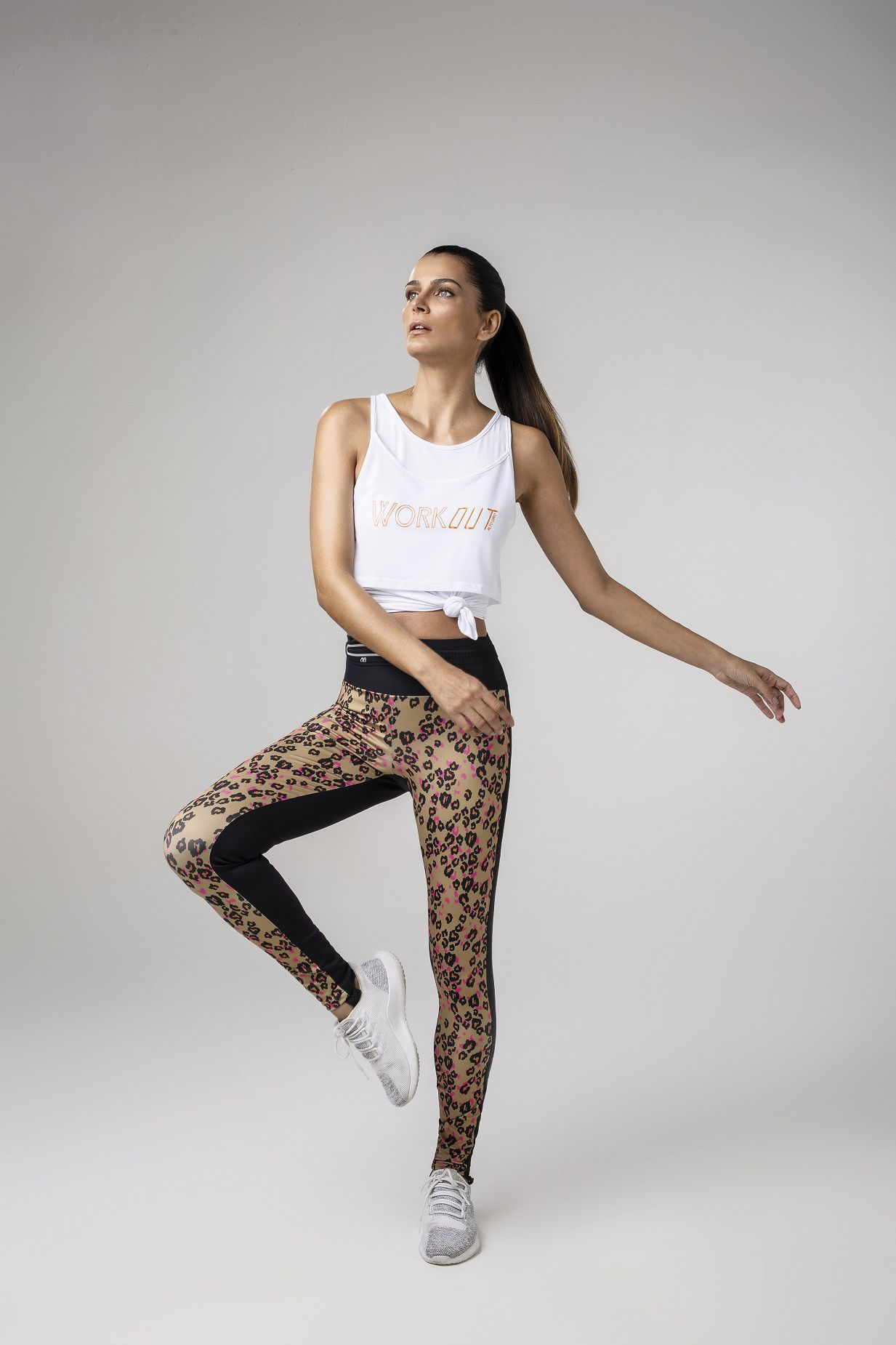 Legging Sublime max estampada Alto Giro