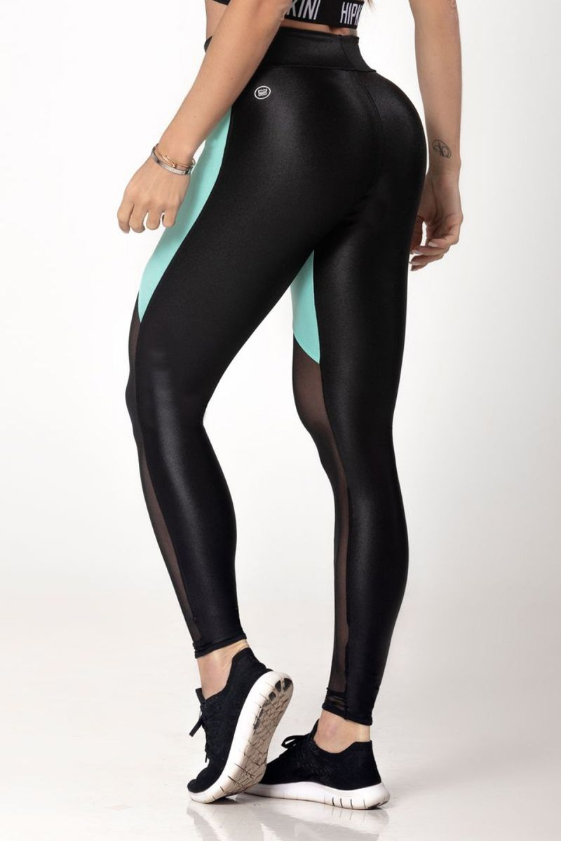 LEGGING VIC FITNESS VERDE BRILHANTE HIPKINI